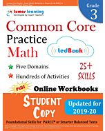 Common Core Practice tedBook® - Grade 3 Math, Student Copy