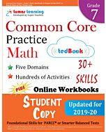 Common Core Practice tedBook® - Grade 7 Math, Student Copy