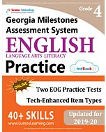 GMAS Practice tedBook® - Grade 4 ELA, Teacher Copy