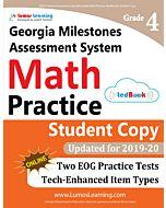 GMAS Practice tedBook® - Grade 4 Math, Student Copy