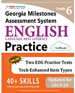GMAS Practice tedBook® - Grade 6 ELA, Teacher Copy