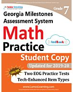 GMAS Practice tedBook® - Grade 7 Math, Student Copy