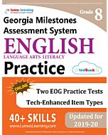 GMAS Practice tedBook® - Grade 8 ELA, Teacher Copy