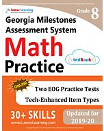 GMAS Practice tedBook® - Grade 8 Math, Teacher Copy