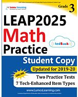 LEAP Practice tedBook® - Grade 3 Math, Student Copy