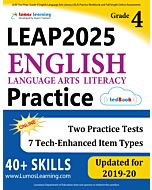 LEAP Practice tedBook® - Grade 4 ELA, Teacher Copy