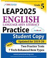 LEAP Practice tedBook® - Grade 5 ELA, Student Copy