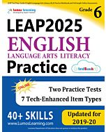 LEAP Practice tedBook® - Grade 6 ELA, Teacher Copy