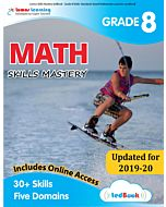 Skills Mastery tedBook® - Grade 8 Math, Teacher Copy