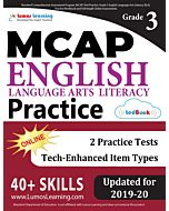 MCAP Practice tedBook® - Grade 3 ELA, Teacher Copy