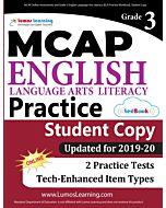 MCAP Practice tedBook® - Grade 3 ELA, Student Copy