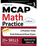 MCAP Practice tedBook® - Grade 3 Math, Teacher Copy
