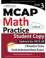MCAP Practice tedBook® - Grade 3 Math, Student Copy