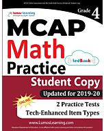 MCAP Practice tedBook® - Grade 4 Math, Student Copy