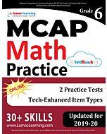 MCAP Practice tedBook® - Grade 6 Math, Teacher Copy
