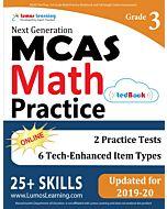 MCAS Practice tedBook® - Grade 3 Math, Teacher Copy