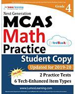 MCAS Practice tedBook® - Grade 4 Math, Student Copy