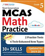MCAS Practice tedBook® - Grade 5 Math, Teacher Copy