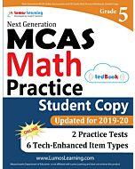 MCAS Practice tedBook® - Grade 5 Math, Student Copy
