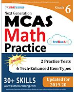 MCAS Practice tedBook® - Grade 6 Math, Teacher Copy