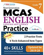 MCAS Practice tedBook® - Grade 7 ELA, Teacher Copy
