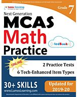 MCAS Practice tedBook® - Grade 7 Math, Teacher Copy