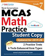 MCAS Practice tedBook® - Grade 7 Math, Student Copy