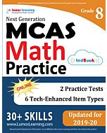 MCAS Practice tedBook® - Grade 8 Math, Teacher Copy