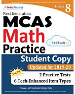 MCAS Practice tedBook® - Grade 8 Math, Student Copy