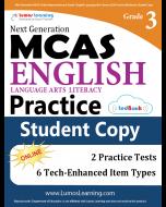 MCAS Practice tedBook® - Grade 3 ELA, Student Copy