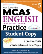 MCAS Practice tedBook® - Grade 5 ELA, Student Copy