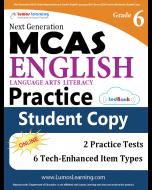 MCAS Practice tedBook® - Grade 6 ELA, Student Copy