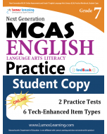 MCAS Practice tedBook® - Grade 7 ELA, Student Copy