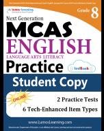 MCAS Practice tedBook® - Grade 8 ELA, Student Copy