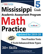 Mississippi Academic Assessment Program (MAAP) Practice tedBook® - Grade 5 Math, Teacher Copy