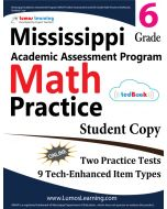 Mississippi Academic Assessment Program (MAAP) Practice tedBook® - Grade 5 Math, Student Copy
