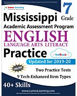 Mississippi Academic Assessment Program (MAAP) Practice tedBook® - Grade 7 ELA, Teacher Copy