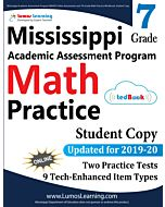 Mississippi Academic Assessment Program (MAAP) Practice tedBook® - Grade 7 Math, Student Copy