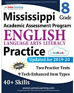Mississippi Academic Assessment Program (MAAP) Practice tedBook® - Grade 8 ELA, Teacher Copy