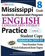 Mississippi Academic Assessment Program (MAAP) Practice tedBook® - Grade 8 ELA, Student Copy