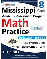 Mississippi Academic Assessment Program (MAAP) Practice tedBook® - Grade 8 Math, Teacher Copy
