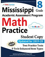 Mississippi Academic Assessment Program (MAAP) Practice tedBook® - Grade 8 Math, Student Copy