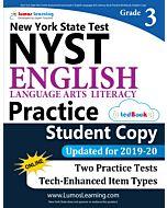 NYST Practice tedBook® - Grade 3 ELA, Student Copy