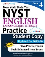 NYST Practice tedBook® - Grade 4 ELA, Student Copy
