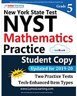 NYST Practice tedBook® - Grade 5 Math, Student Copy