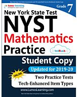 NYST Practice tedBook® - Grade 7 Math, Student Copy
