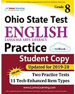 OST Practice tedBook® - Grade 8 ELA, Student Copy