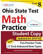 OST Practice tedBook® - Grade 8 Math, Student Copy
