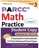 PARCC Practice tedBook® - Grade 3 Math, Student Copy