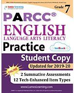PARCC Practice tedBook® - Grade 7 ELA, Student Copy